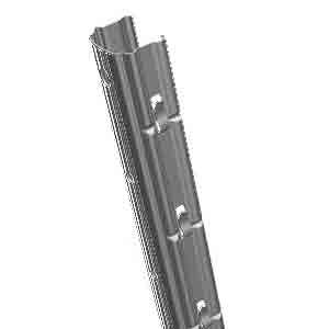 столбы деревянные, железобетонные, металлические для шпалеры
